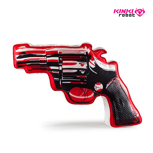 Andy Warhol Revolver Plush(XL)