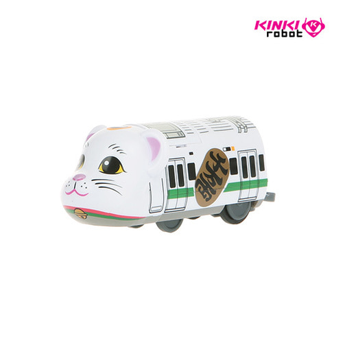 BEARBRICK TRAIN MANEKINEKO WHITE TRAIN
