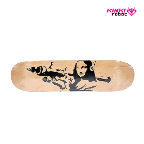 "SKATEBOARD DECK ""MONA LAUNCHER"""