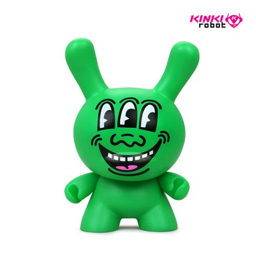 "8"" KEITH HARING MASTERPIECE DUNNY - THREE EYED MONSTER"